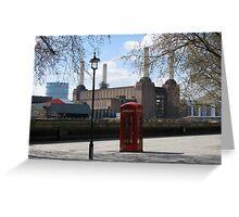 British Icons Greeting Card