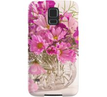 Cosmos - Summers Last Bouquet  Samsung Galaxy Case/Skin