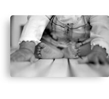 Baby Toes Canvas Print
