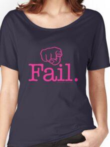 Fail Pink Women's Relaxed Fit T-Shirt