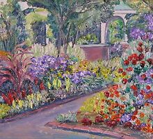 Grandmother's Garden, Westfield, MA by Richard Nowak