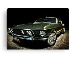 Mean Mustang! Canvas Print