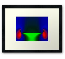 Guess What Framed Print