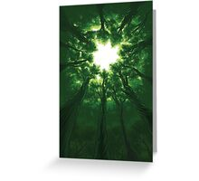 Tree Cathedral Greeting Card