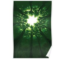 Tree Cathedral Poster
