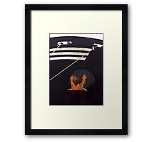Bow and Anchor Framed Print