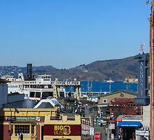 San Francisco`s Hyde St. Pier by Mangaba