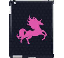 Visible Invisible Pink Unicorn iPad Case/Skin