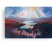 Loch Gary Colours Canvas Print
