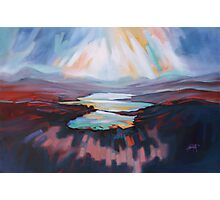 Loch Gary Colours Photographic Print