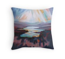 Loch Gary Colours Throw Pillow