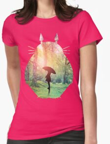 Forest of Dreams Womens Fitted T-Shirt