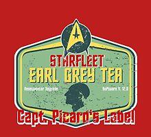 CAPT. PICARD'S EARL GREY TEA  by karmadesigner