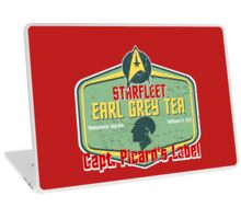 CAPT. PICARD'S EARL GREY TEA  Laptop Skin