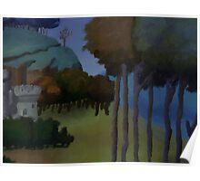 Medieval Landscape Poster