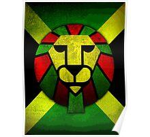 Rasta Lion. Poster