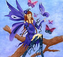 Butterfly Fairy by vicki1967