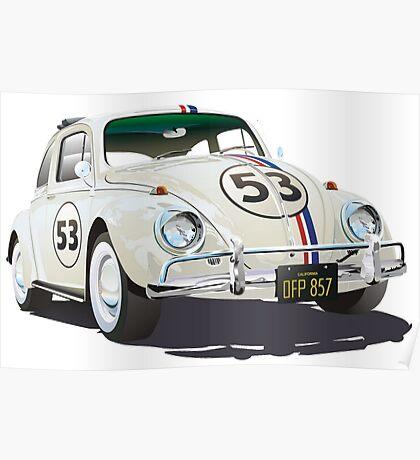 Herbie The Beetle Poster