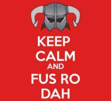 Keep Fus Ro Dah One Piece - Short Sleeve