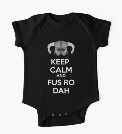 Keep Fus Ro Dah One Piece - Short Sleeve