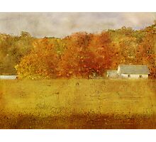 Farmstead in Evening Light Photographic Print