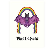 Thee Oh Sees - Help Art Print
