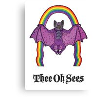 Thee Oh Sees - Help Canvas Print
