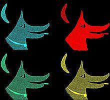 Smackdog Pop Art by Boni Drake