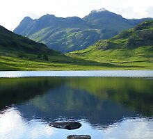 The Lake District: Reflecting on The Langdales by Rob Parsons
