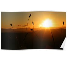 The Lake District: Scout Scar Sunset Poster