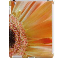 Peach Gerbera Daisy Sideview iPad Case/Skin
