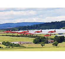 Red Arrows Display Team 2008 Photographic Print