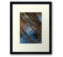Into Chaos Blue 2 Framed Print