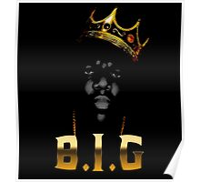 Biggie Crown [with text] Poster