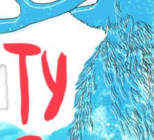 Ty Segall (Deer) Sticker