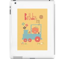 Birthday Boy - train iPad Case/Skin