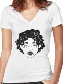 Zip: Maarika Women's Fitted V-Neck T-Shirt
