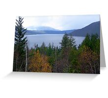 Near Salmon Arm Greeting Card