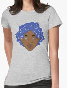 Zip: Maarika (color) Womens Fitted T-Shirt
