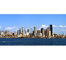 Seattle Skyline Ten Photographic Print