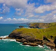 View from Tintagel by HelenBeresford