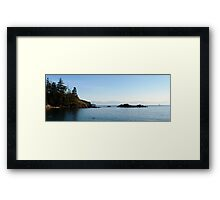 Sailing into Paradise Framed Print