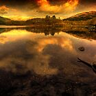Loch Chon Reflections by Karl Williams