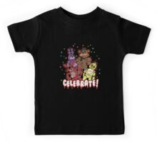 Five Nights At Freddy's Celebrate! Kids Tee