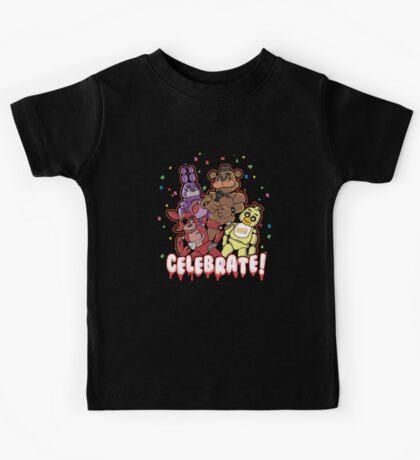 Five Nights At Freddy's Celebrate! Kids Tee