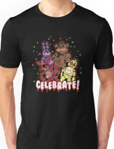 Five Nights At Freddy's Celebrate! Unisex T-Shirt