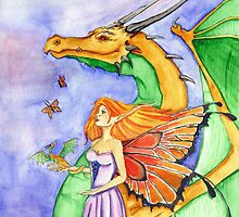 Dragon Fairy Godmother by Featherheart