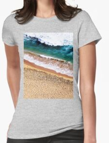 Sandy Shore Womens Fitted T-Shirt