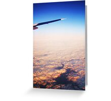 Miles Above Forever Greeting Card