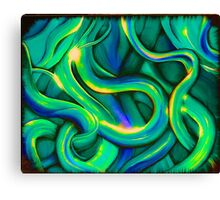 Cool Abstract By Angieclementine Canvas Print